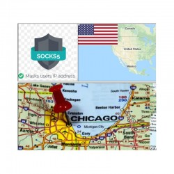 10 SOCKS PROXY SERVER Chicago (US) - Port 25 closed