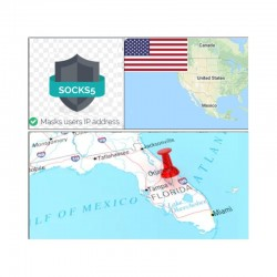 10 SOCKS PROXY SERVER Miami (US) - Port 25 closed