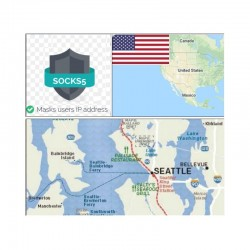 10 SOCKS PROXY SERVER Seattle (US) - Port 25 closed