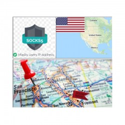 10 SOCKS PROXY SERVER Silicon Valley (US) - Port 25 closed