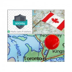 10 SOCKS PROXY SERVER Toronto (Canada) - Port 25 closed