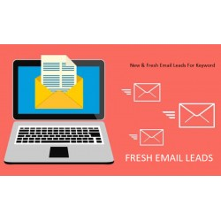 100,000 DOMAIN***.** FOR KEY WORD -  NEW FRESH EMAIL LEADS