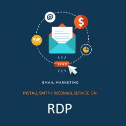INSTALL SMTP/WEBMAIL Full DKIM, SPF ON YOUR RDP