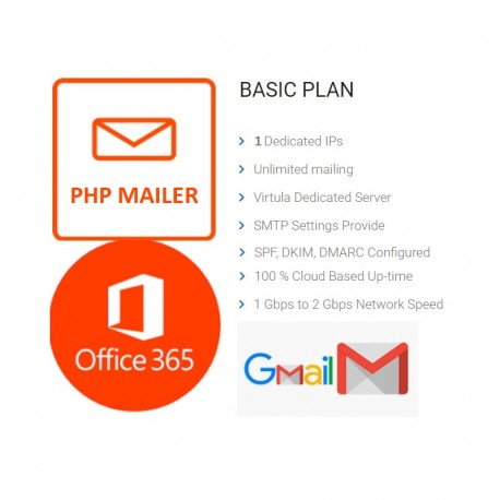 Unlimited PHP Mailer - Full DKIM, SPF FOR OFFICE365 - GMAIL
