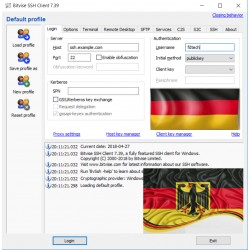 SSH SERVER ( GERMANY ) OPEN ALL PORT